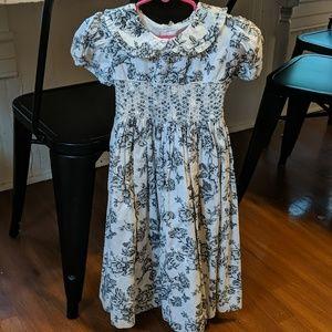 Rare Editions Smocked Dress